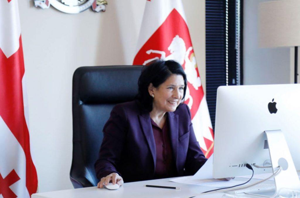Salome Zurabişvili - Avropa İttifaqının xərçəngi məğlub etmə planı Gürcüstan üçün də əlçatarlı olmalıdır