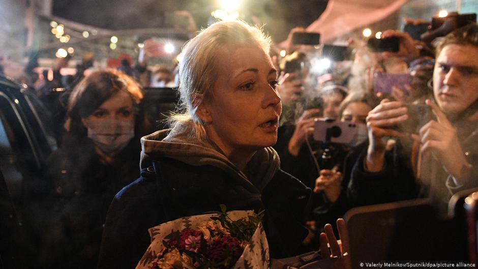 Жена Алексея Навального покинула Россию и уехала в Германию