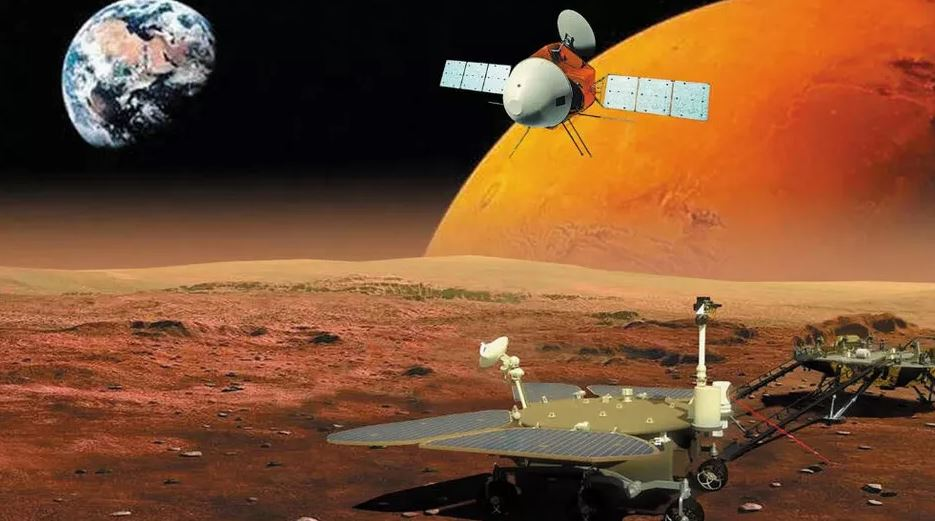 ჩინეთის ხომალდი მარსის ორბიტაზე წარმატებით გავიდა — პირველად ქვეყნის ისტორიაში #1tvმეცნიერება