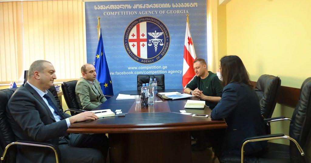 ირაკლი ლექვინაძემ ევროპული ბიზნეს ასოციაციის თავმჯდომარესთან სამუშაო შეხვედრა გამართა
