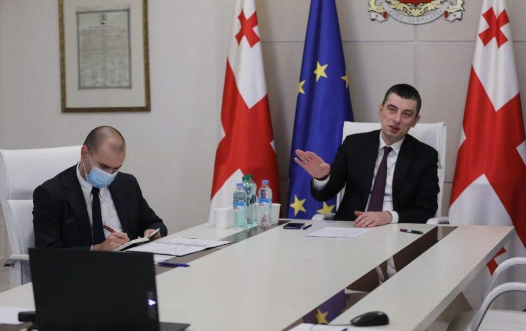 პრემიერ-მინისტრმა და NDI-ის პრეზიდენტმა წარმატებული თანამშრომლობა, რეგიონული და ადგილობრივი გამოწვევები განიხილეს