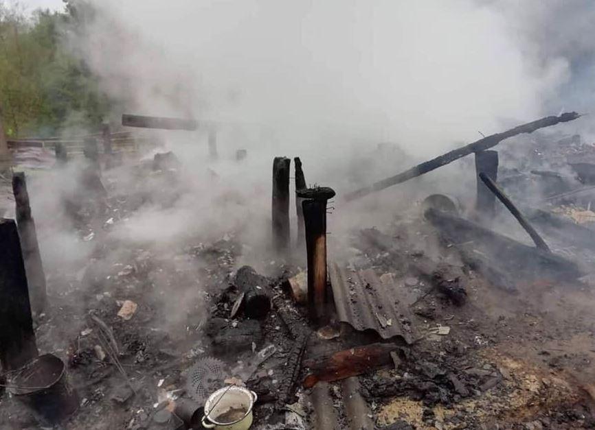 Չոխատաուրիի մունիցիպալիտետում այրվել է նորակառույց տուն