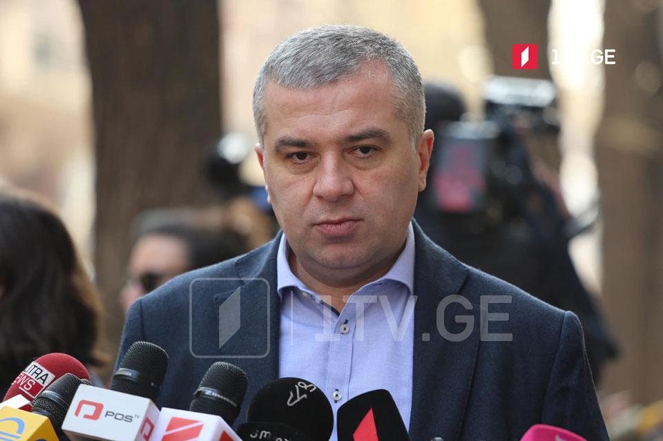 Давид Бакрадзе - Ожидается, что переговоры возобновятся сегодня во второй половине дня