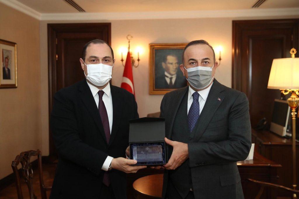 საქართველოს ელჩი გიორგი ჯანჯღავა თურქეთის საგარეო საქმეთა მინისტრს შეხვდა