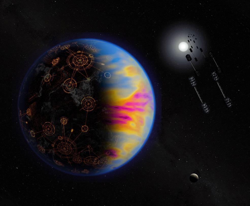 არამიწიერი ცივილიზაციის არსებობის საუკეთესო ნიშანი მათი პლანეტის გარშემო ჰაერის დაბინძურება უნდა იყოს — ახალი კვლევა #1tvმეცნიერება