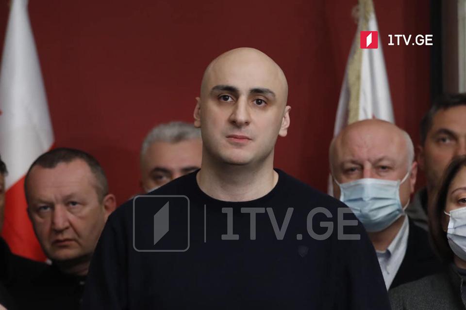 Ника Мелия - Георгий Гахария подал в отставку и признал, что планировалось кровопролитие, это следует ценить