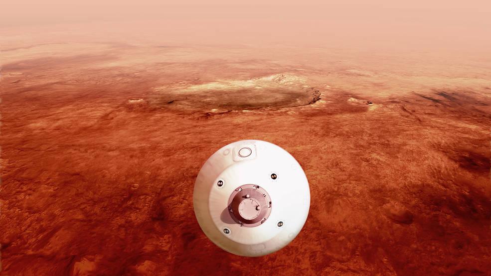 """თვალი ადევნეთ """"პერსევერანსის"""" მარსზე დაშვებას პირდაპირ ეთერში — #1tvმეცნიერება"""