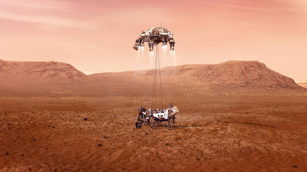 """NASA-ს """"პერსევერანსი"""" მარსზეა — ისტორიული, შეუპოვარი მისია დაიწყო #1tvმეცნიერება"""