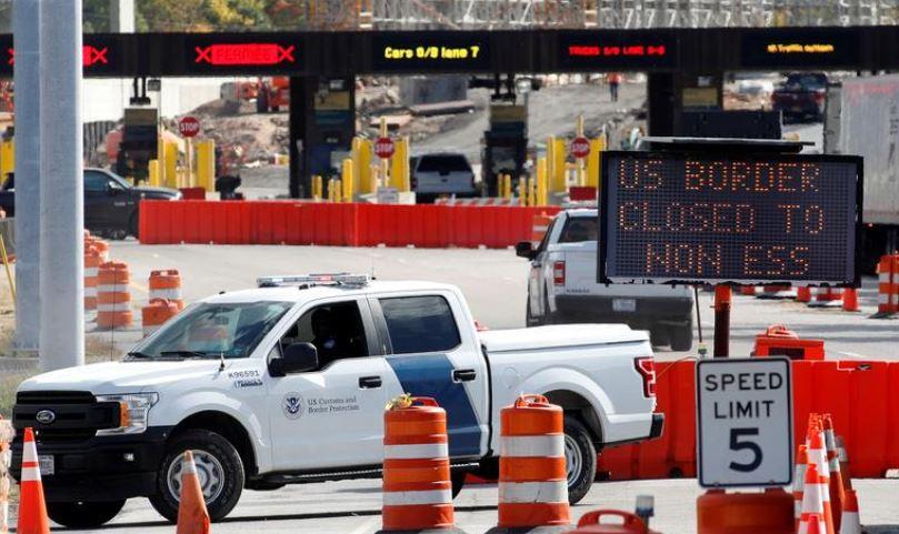 აშშ-მა მექსიკასა და კანადასთან სახმელეთო საზღვარზე სამოგზაურო შეზღუდვები 21 მარტამდე გაახანგრძლივა