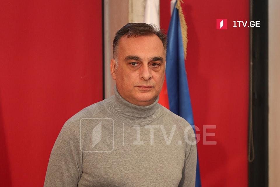 Zaal Udumaşvili - Dialoq masasına oturmağa hazırıq, ancaq dialoqda Nika Melia da iştirak etməlidir
