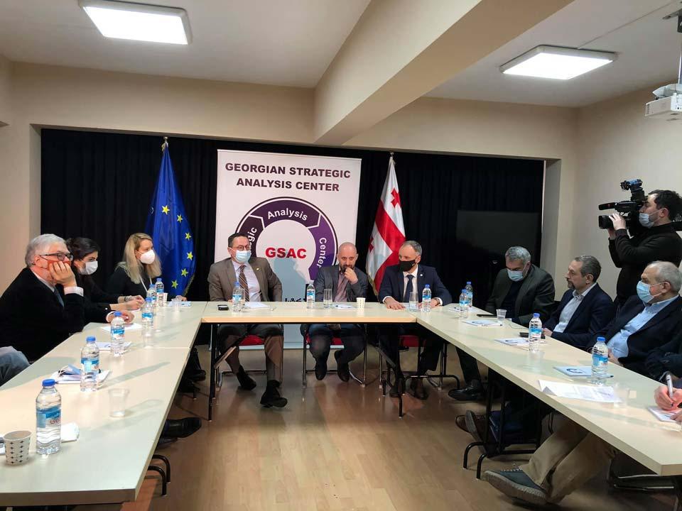 Представители Сейма Литвы встретились с грузинскими неправительственными организациями
