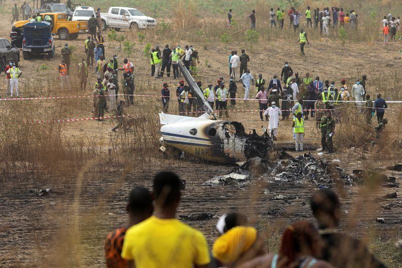 ნიგერიაში მცირე ზომის სამგზავრო თვითმფრინავის ჩამოვარდნის შედეგად შვიდი ადამიანი დაიღუპა