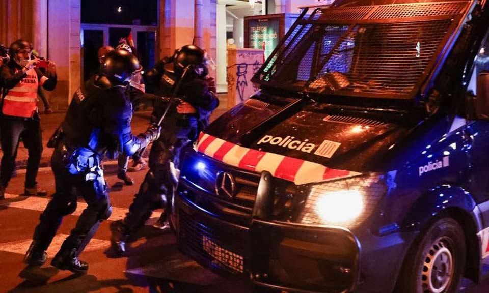 Իսպանիայում ցուցարարների և իրավապահների միջև տեղի է ունեցել բախում
