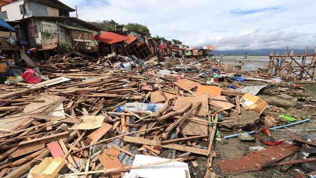 ტროპიკული ქარიშხლის გამო, ფილიპინებზე 5 ათასზე მეტმა ადამიანმა საცხოვრებელი სახლი დატოვა