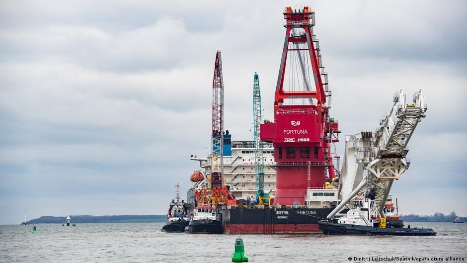 """რუსულ გაზსადენ """"ჩრდილოეთის ნაკადი 2""""-ის კომპანია გერმანიის ტერიტორიულ წყლებში სამშენებლო სამუშაოების გაგრძელების ნებართვას ითხოვს"""