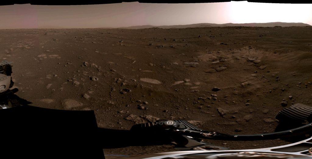 """""""პერსევერანსმა"""" მარსზე პირველი 360-გრადუსიანი პანორამა გადაიღო — #1tvმეცნიერება"""