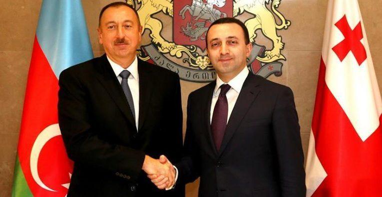 Իլհամ Ալիևը Իրակլի Ղարիբաշվիլիին շնորհավորել է Վրաստանի վարչապետի պաշտոնում նշանակվելու առթիվ