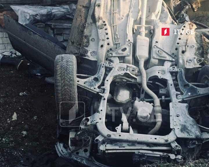 ლაგოდეხის მუნიციპალიტეტში ავტოსაგზაო შემთხვევის შედეგად, ერთი ადამიანი დაიღუპა, ოთხი კი დაშავდა
