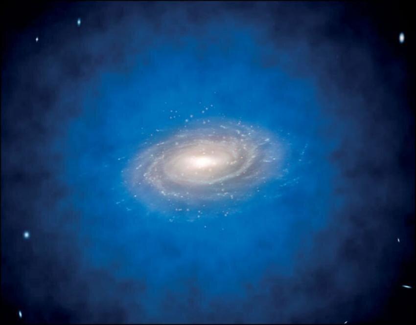 სუპერმასიური შავი ხვრელები გალაქტიკათა ცენტრში, შეიძლება ბნელი მატერიისგან წარმოიქმნება — ახალი კვლევა #1tvმეცნიერება