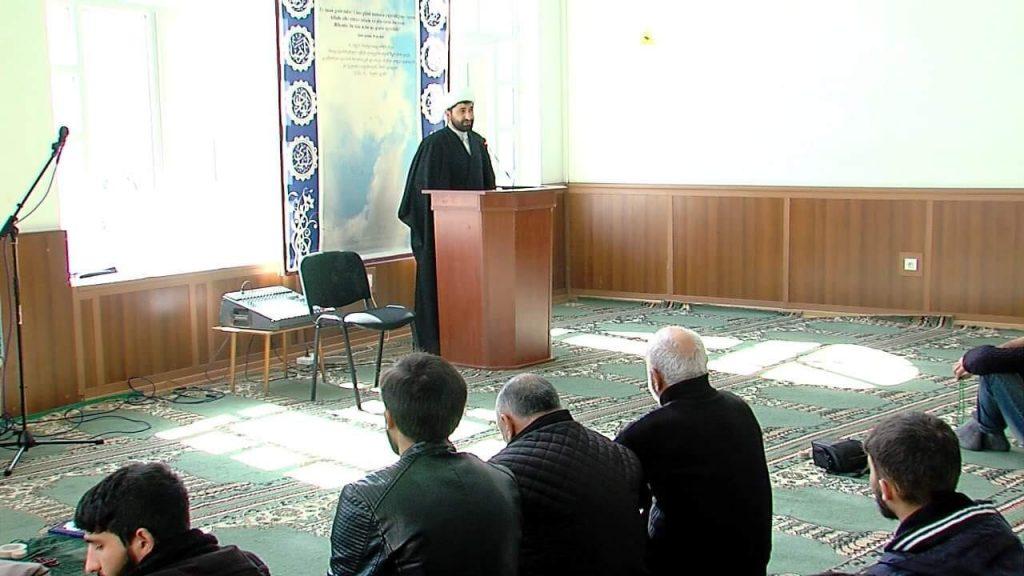 Азербайджанская община отметила День памяти погибших 26 февраля 1992 года в мечети Эхли-Бейт в Тбилиси