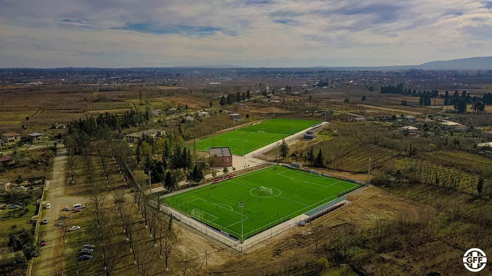 UEFA проспонсировала строительство футбольной академии в Рухи