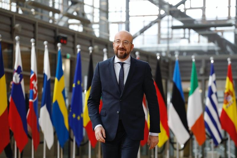 Начался визит в Грузию президента Европейского Совета Шарля Мишеля