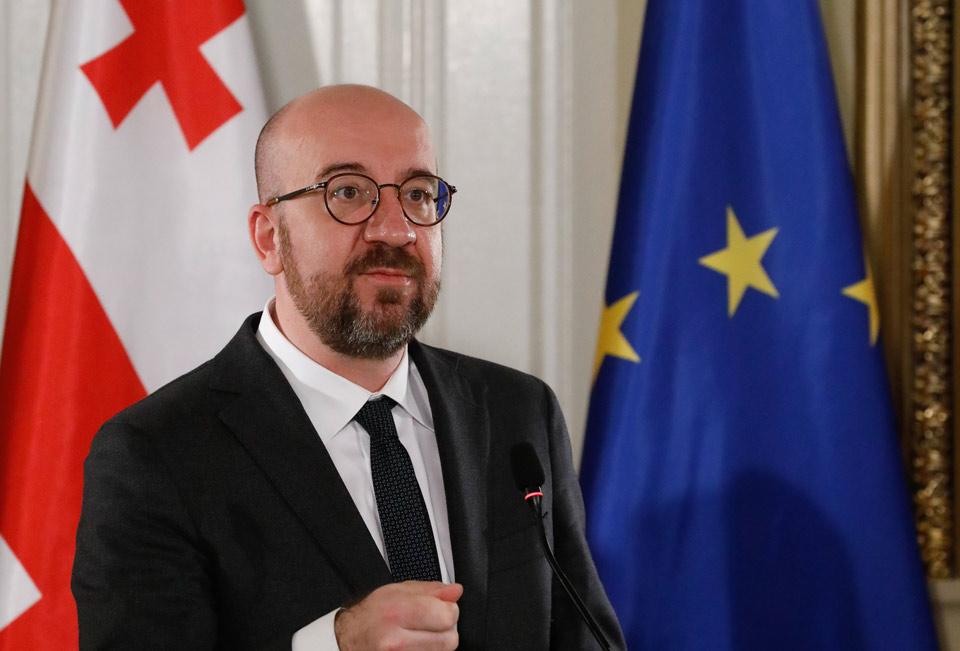 European Council President sends Georgia message of friendship