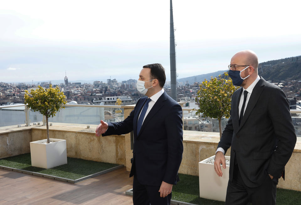 ირაკლი ღარიბაშვილი - ვაპირებთ, 2024 წელს გავაკეთოთ განაცხადი ოფიციალურად ევროკავშირის სრულფასოვან წევრობაზე, ვართ მოტივირებული, რომ ჩვენი ქვეყნისთვის ეს შესაძლებელი გახდეს