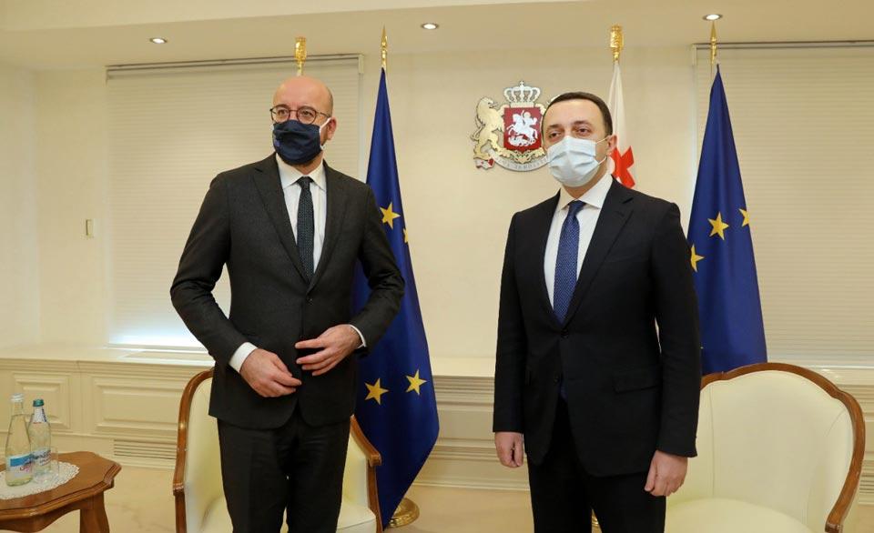 European Council President invites Georgian politicians to meet tonight