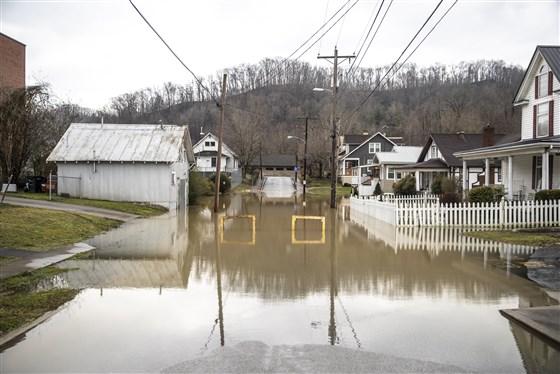 აშშ-ის ერთ-ერთ შტატში ძლიერი წვიმისა და წყალდიდობის გამო საგანგებო მდგომარეობა გამოცხადდა