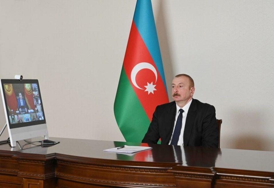 """Ильхам Алиев предложил странам-членам """"Организации экономического сотрудничества"""" использовать новый транспортный коридор"""