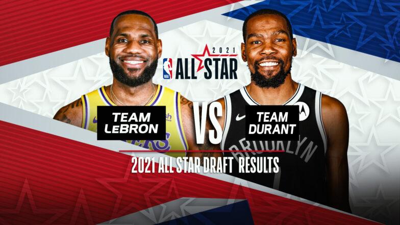 "NBA-ის ""ოლ სტარი"" - ლებრონ ჯეიმსმა და კეივინ დურანტმა გუნდები დრაფტის პრინციპით აირჩიეს  #1TVSPORT"