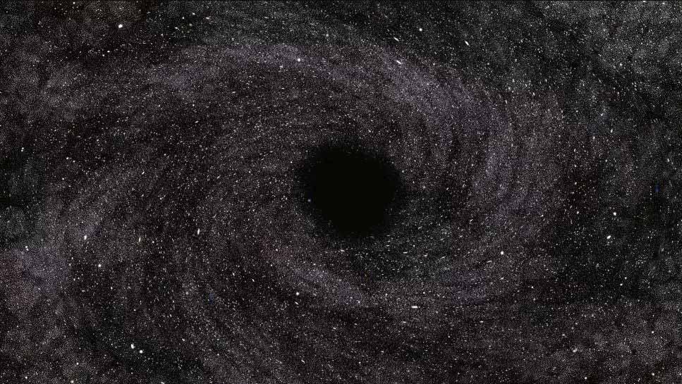 ლაბორატორიაში შექმნილი შავი ხვრელის ანალოგი ზუსტად ისე მოიქცა, როგორც ამას ჰოკინგი პროგნოზირებდა — #1tvმეცნიერება