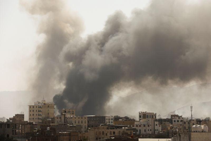 საუდის არაბეთის მეთაურობით მოქმედმა საერთაშორისო კოალიციამ იემენის დედაქალაქზე ავიაიერიშები მიიტანა