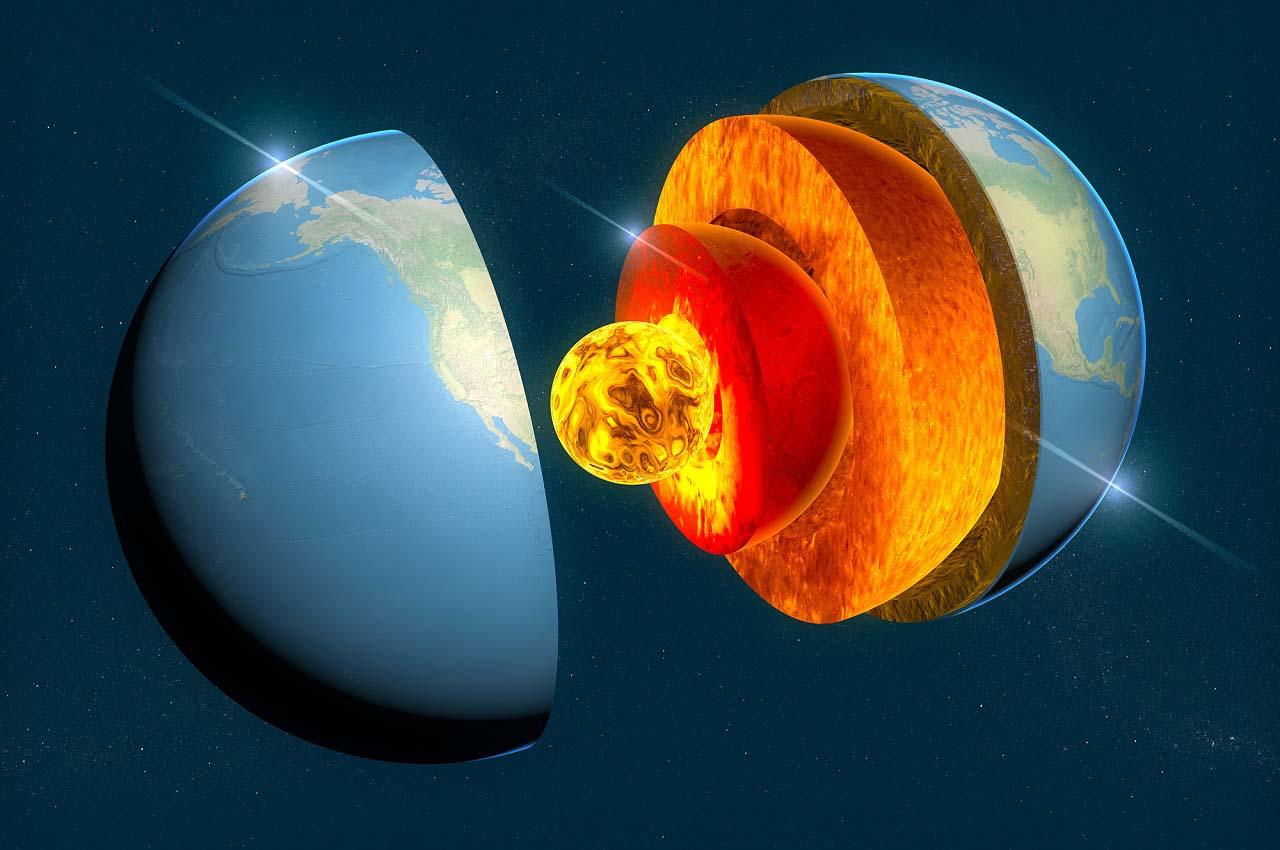 მეცნიერებმა დედამიწის შიდა ბირთვში დამალული სტრუქტურის ნიშნები დააფიქსირეს — #1tvმეცნიერება