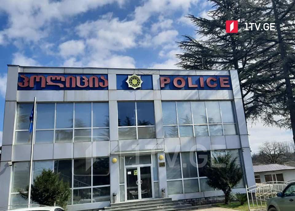 Martvili Polis İdarəsində Martvili və Çğondidi Yeparxiyasında baş verən faktla bağlı dindirmələr aparılır