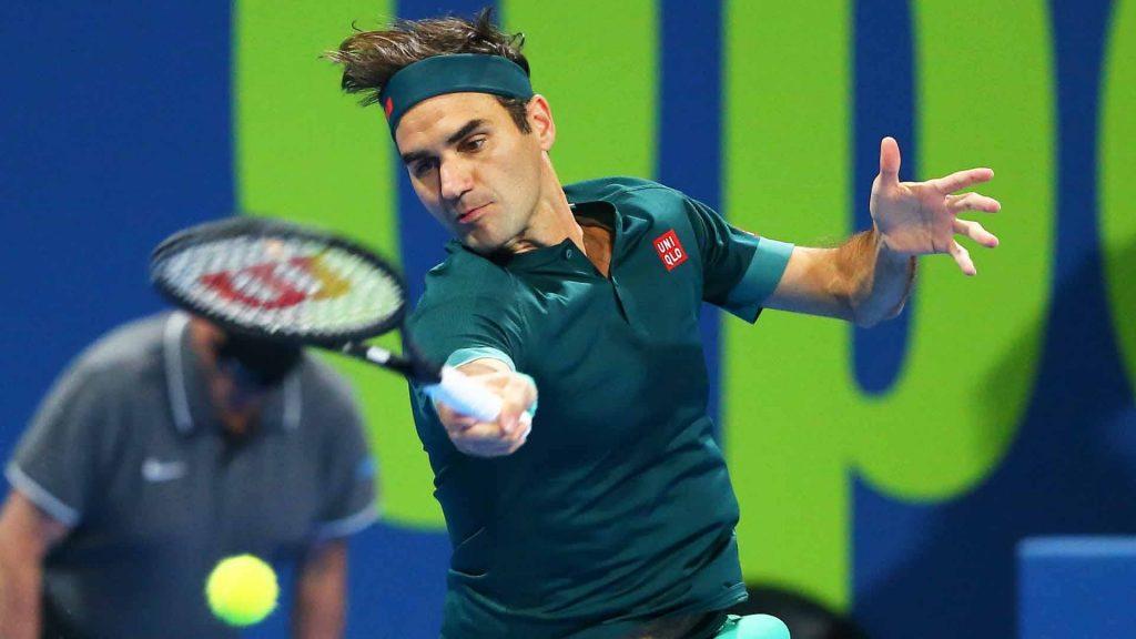Rocer Federer ağır qələbə ilə qayıtdı və dörddəbir finalda Basilaşvili ilə görüşəcək