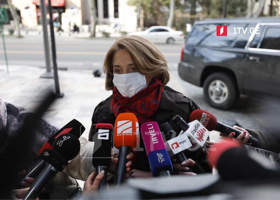 Саломе Самадашвили - Власти и оппозиции придётся подписать такое соглашение, в котором очевидно, что все стороны не смогут получить всё