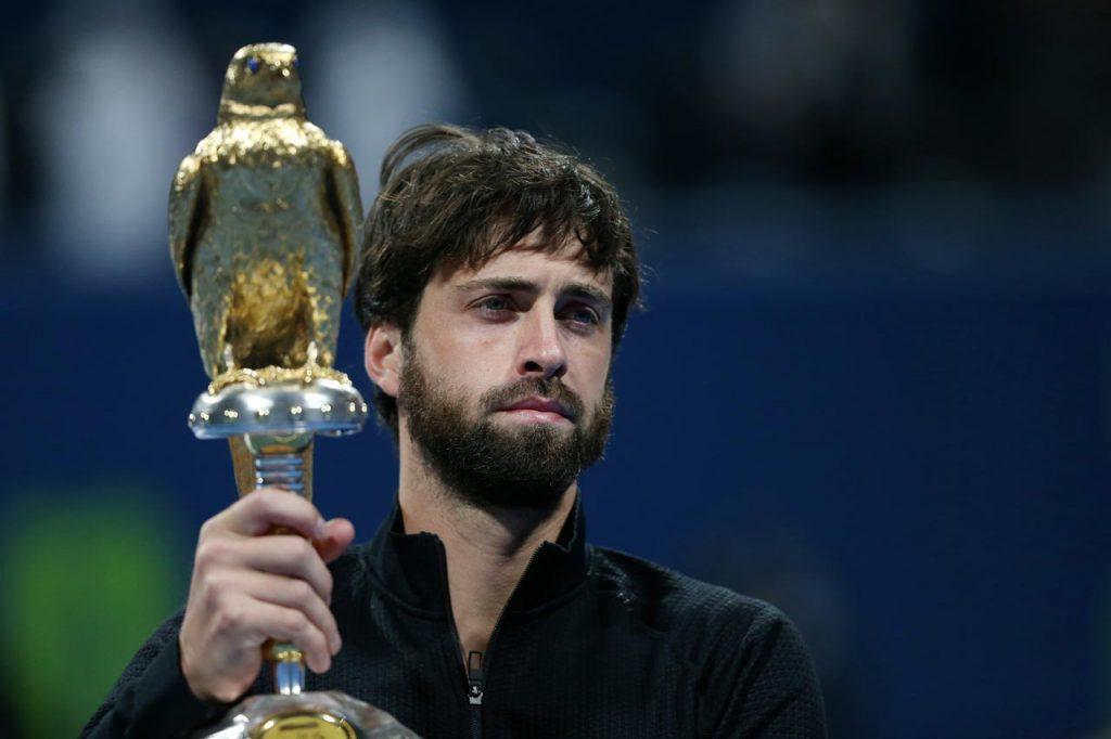 Николоз Басилашвили выиграл турнир в Дохе