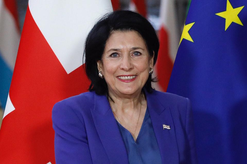 Саломе Зурабишвили иахьа Монакотәи аҳра дааауеит