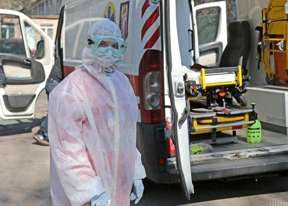 Ukraynada koronavirusun 9 642 yeni halı aşkar edildi, 264 pasiyent vəfat etdi