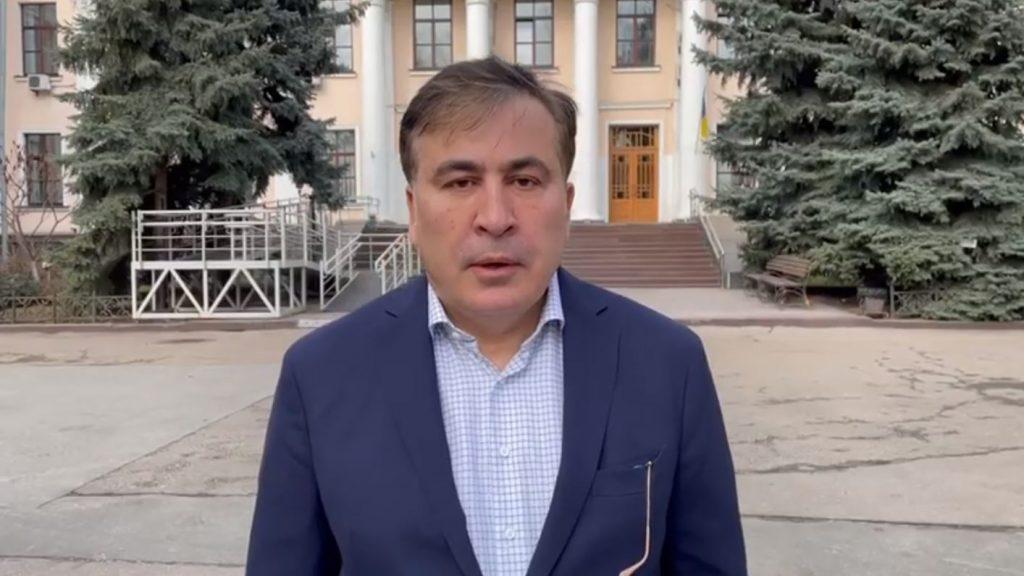 """Михаил Саакашвили призывает """"ЕНД"""" подписать документ Шарля Мишеля после освобождения Ники Мелия и войти в парламент"""