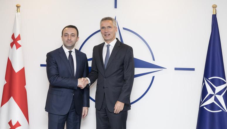 Ираклий Гарибашвили встретится с Йенсом Столтенбергом