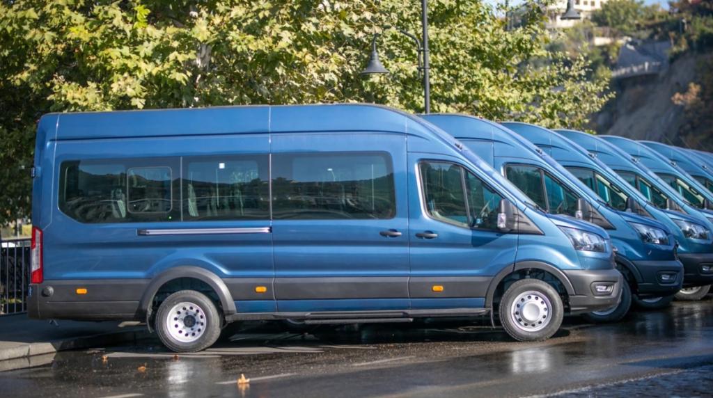 თბილისის მერიამ 700 მიკროავტობუსის შესყიდვაზე ტენდერი გამოაცხადა