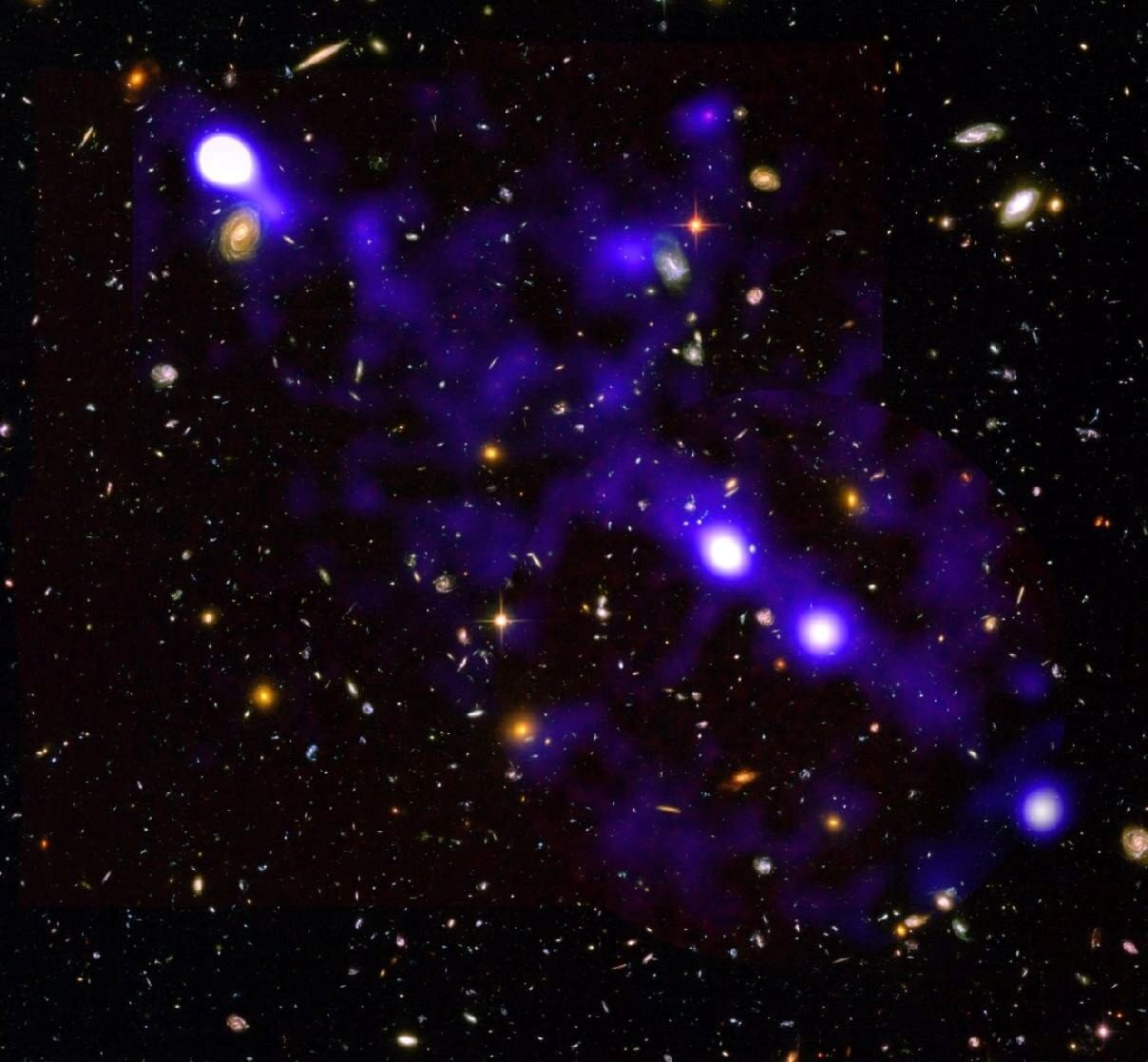 ასტრონომებმა კოსმოსური აბლაბუდის ძაფებს ახალი, შთამბეჭდავი ფოტო გადაუღეს — #1tvმეცნიერება