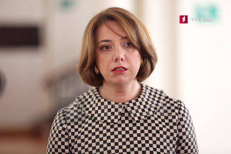 Саломе Самадашвили - В условиях политзаключенных соглашение достигнуто не будет
