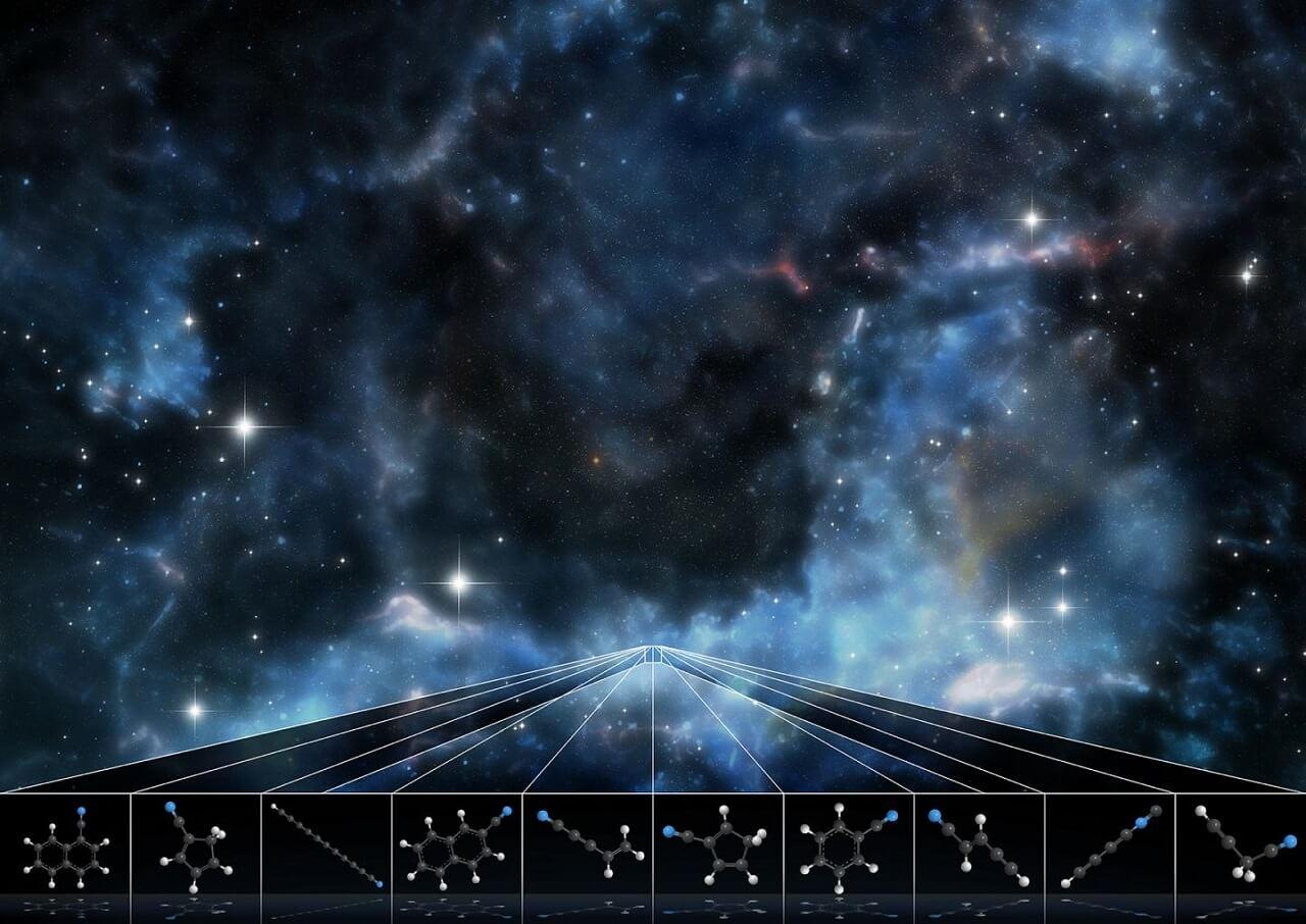 ვარსკვლავებს შორის აღმოაჩინეს მოლეკულები, რომლებიც კოსმოსში აქამდე არასოდეს გვინახავს — #1tvმეცნიერება