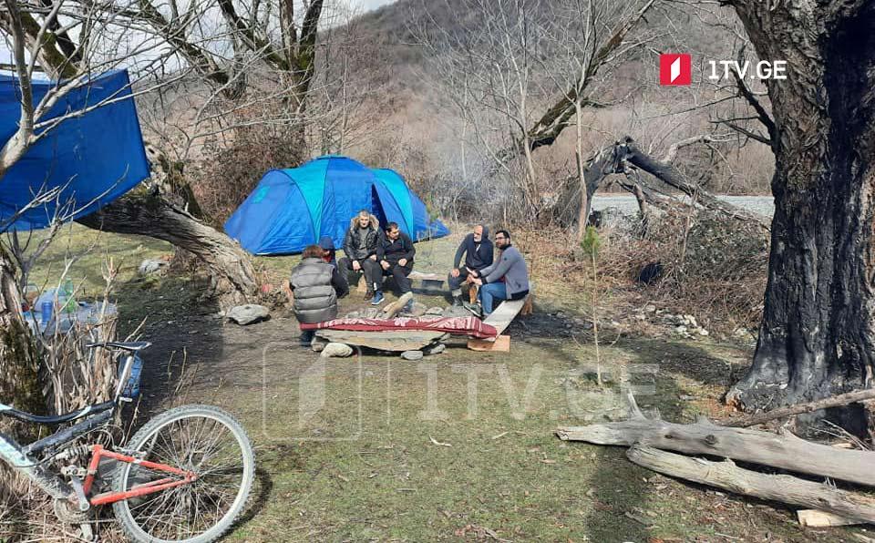 თელავის სოფელ ლაფანყურის მოსახლეობა მდინარე ლოპოტაზე ჰესის მშენებლობას აპროტესტებს