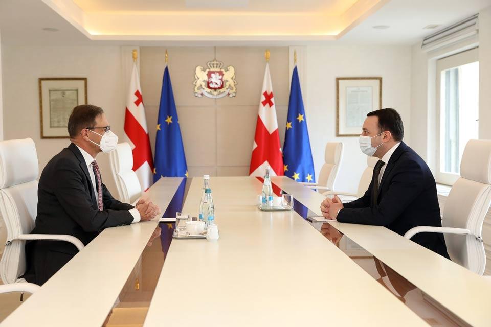 Georgian PM meets German Ambassador