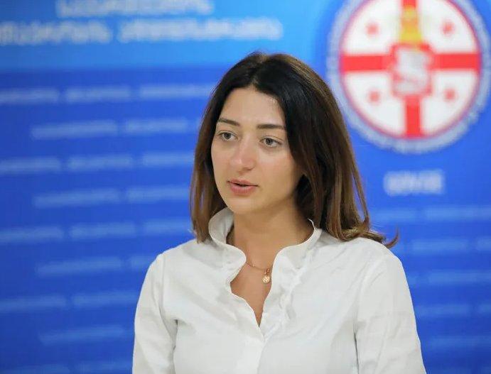 Deputat Ana Buçukuri - təsdiq edirəm ki, Giorgi Qaxariya mənim dostumdur, bu gün artıq başqa şərh verə bilmərəm